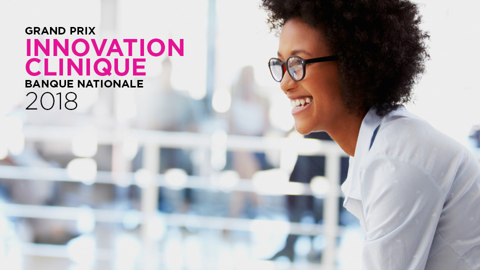 Grand prix Innovation clinique Banque Nationale 2018