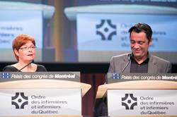 Sylvie Lafrenière et Vincent Dumez
