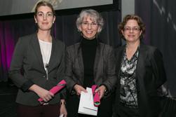 Julie Francoeur, Louise Bujold et Carole Mercier
