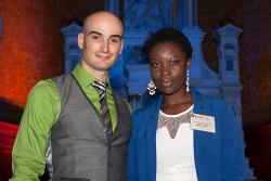 Jean-François Labonté et Aïsga Claudine Musoké